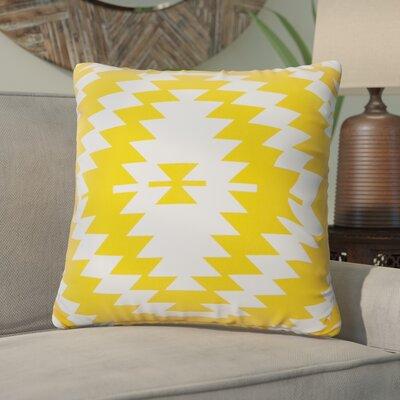 Liana Throw Pillow Color: Gold