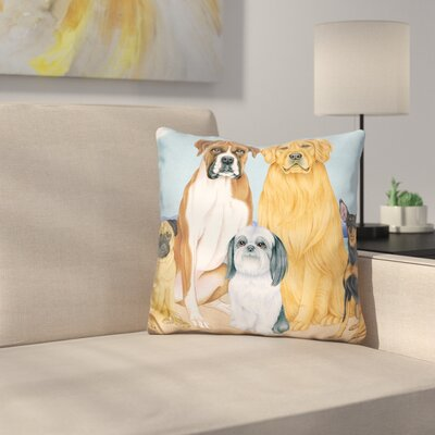 Great Indoor/Outdoor Lakeside Throw Pillow
