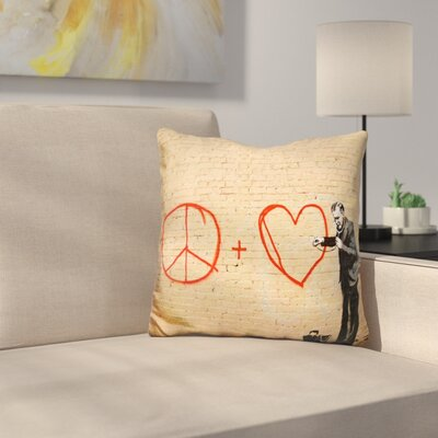 Peaceful Hearts Doctor Throw Pillow