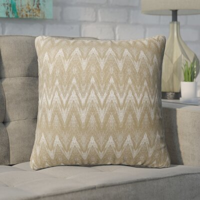 Marshall Gold Indoor/Outdoor Throw Pillow Size: 18 H x 18 W x 6 D