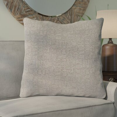 Tarsha Throw Pillow Color: Gray