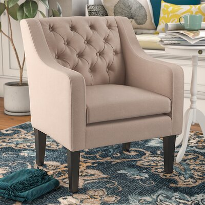 Boundary Bay Armchair Upholstery: Beige