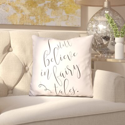 Iraheta I Still Believe Throw Pillow