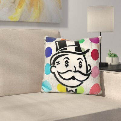 Another Day Another Dollar Dots Throw Pillow