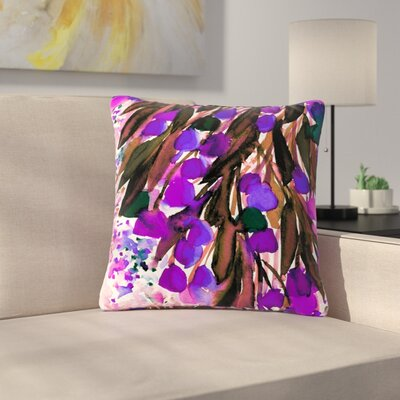 Ebi Emporium Botanical Regency Outdoor Throw Pillow Size: 16 H x 16 W x 5 D