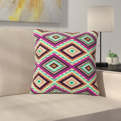 Vasare Nar Boho Gipsy Outdoor Throw Pillow Size: 16 H x 16 W x 5 D