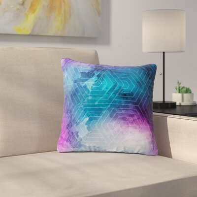 Matt Eklund Going Home Outdoor Throw Pillow Size: 16