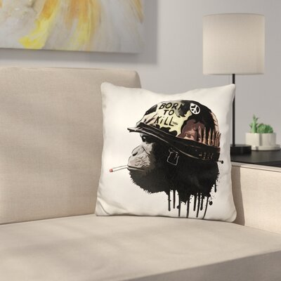 Born to Kill Throw Pillow