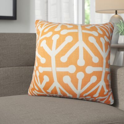 Zaniyah Geometric Cotton Throw Pillow