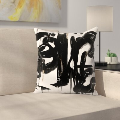 Kasi Minami Abstract 5 Throw Pillow Size: 14 x 14