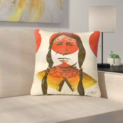 Ivan Joh Indian Outdoor Throw Pillow Size: 16 H x 16 W x 5 D