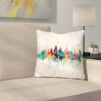 Kansas City 1974 Throw Pillow