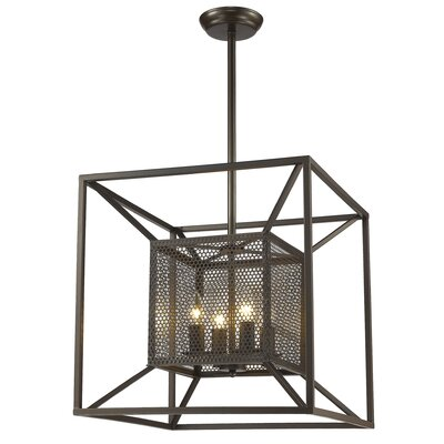 Whyalla 4-Light Foyer Pendant