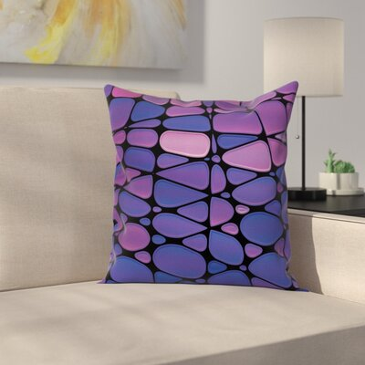 Modern Removable Waterproof Square Pillow Cover with Zipper Size: 18 x 18
