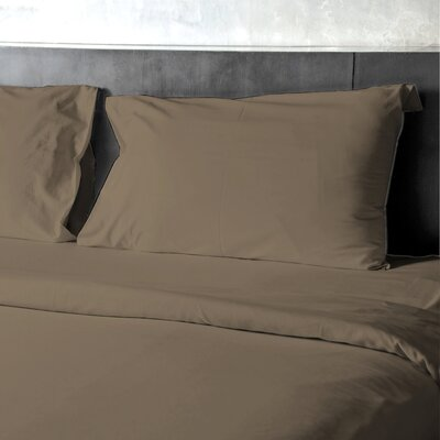 Eubank Egyptian-Quality Deep Pocket Sheet Set Size: King, Color: Taupe