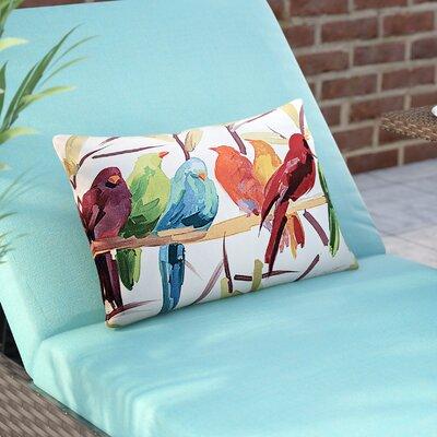 Mcphearson Flocked Together Birds Throw Pillow