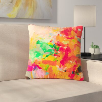 Oriana Cordero La Rochelle-Abstract Outdoor Throw Pillow Size: 18 H x 18 W x 5 D