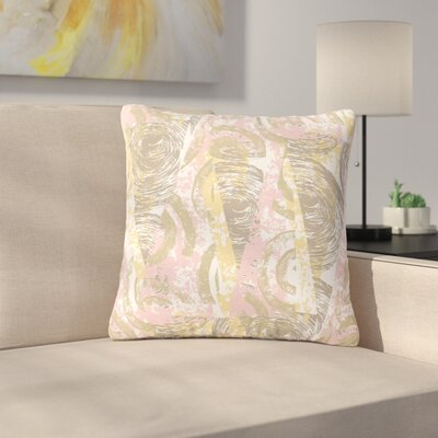 Chickaprint Scrubs Outdoor Throw Pillow Size: 18 H x 18 W x 5 D