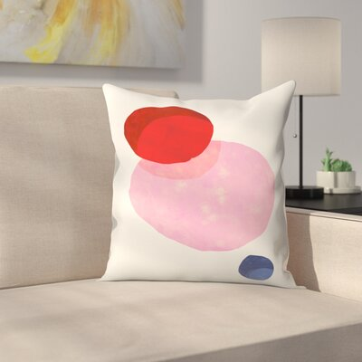 Eclipse Throw Pillow Size: 18 x 18
