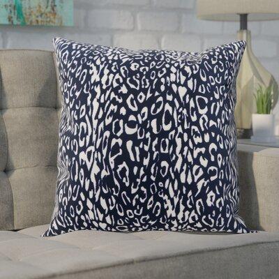Eustachys Indoor/Outdoor Throw Pillow Color: Blue