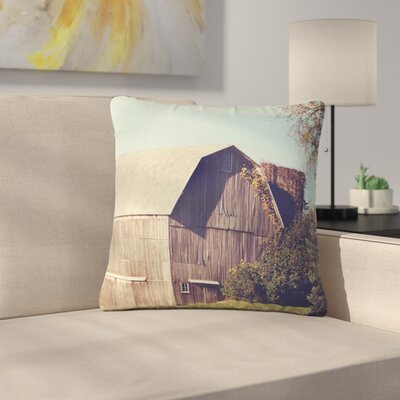 Angie Turner Barn Outdoor Throw Pillow Size: 16 H x 16 W x 5 D