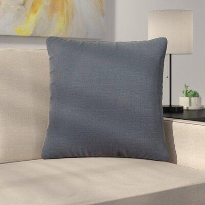 Alyssia Throw Pillow Size: 20 H x 20 W x 4 D, Color: Indigo