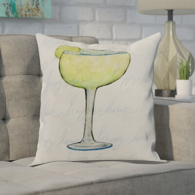 Carmack Throw Pillow Color: Pale Blue, Size: 18 x 18