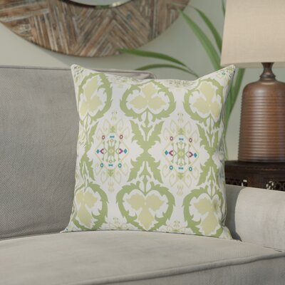 Meetinghouse Bombay Geometric Outdoor Throw Pillow Size: 20 H x 20 W, Color: Green