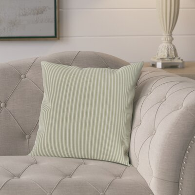 Chavira Decorative Throw Pillow Color: Green, Size: 16 x 16