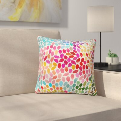 Rain 6 Throw Pillow Size: 20 x 20