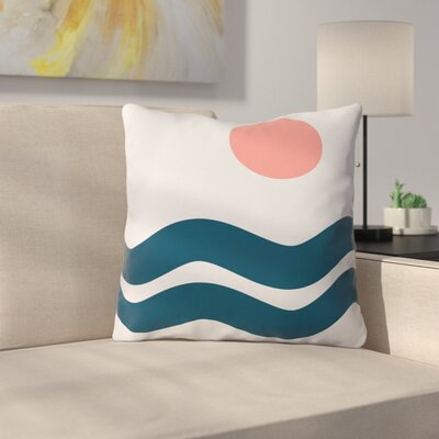 The Old Art Studio Nautical Throw Pillow Size: 18