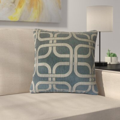 Radstock Geometric Throw Pillow Color: Nightsky