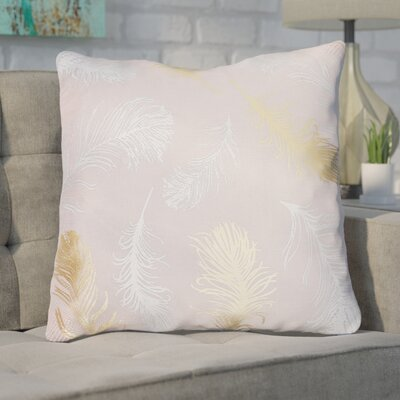 Shanon Throw Pillow Color: Silver