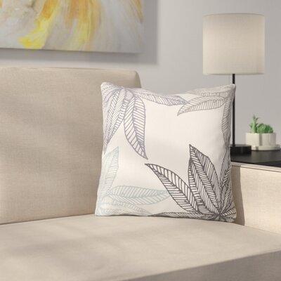 Camilla Foss Throw Pillow Size: 16 H x 16 W x 4 D