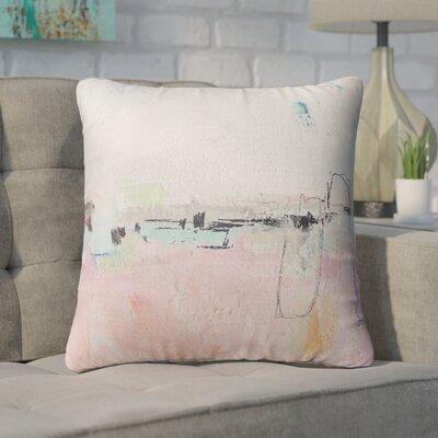 Lyka Throw Pillow Size: 24 x 24