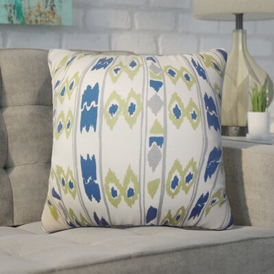 Witherspoon Geometric Cotton Throw Pillow