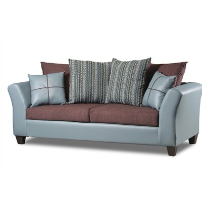Forese Sofa Upholstery: Concord Seafoam/Cougar Chocolate
