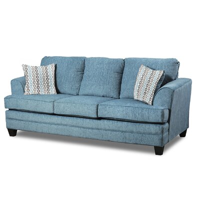 Napoleon Sofa Upholster: Home Run Teal