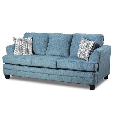 Napoleon Sofa Upholster: Home Run Teal
