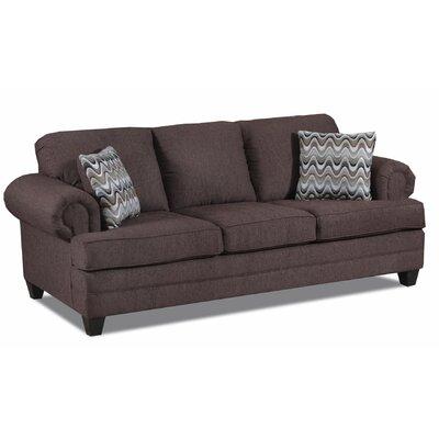 Eskridge Sofa Upholstery: Cougar Chocolate