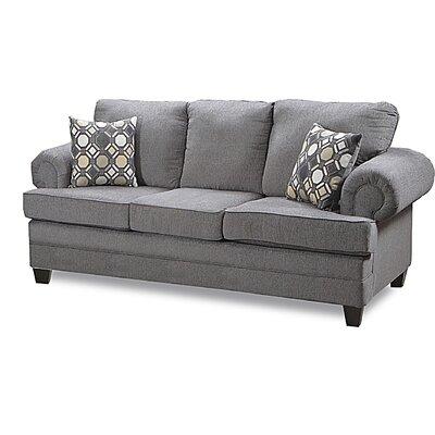 Eskridge Sofa Upholstery: Fairley Darkstone