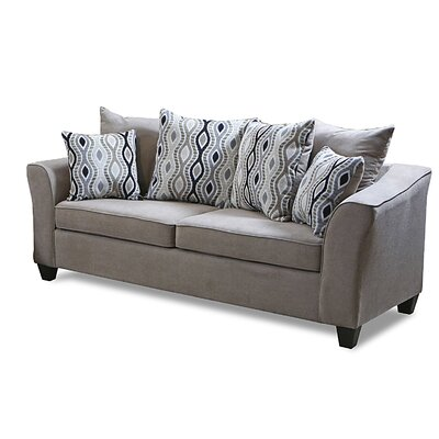 Nassau Sofa Upholstery: Capstone Taupe