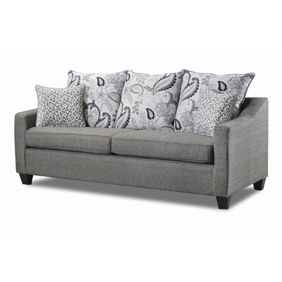 Stehman Sofa Upholstery: Vibrant Onix/Gwendolyn Shale/Moonwalk Seagull