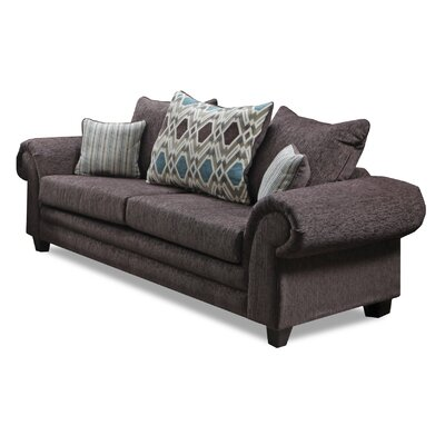 Gambill Sofa Upholster: Home Run Brown