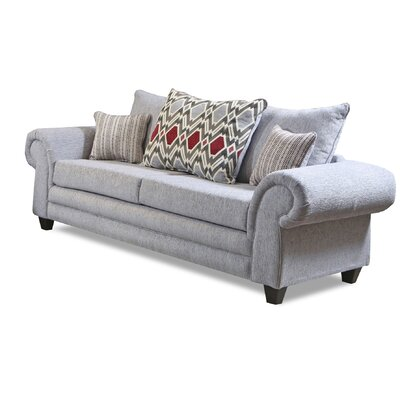 Gambill Sofa Upholster: Home Run Gray