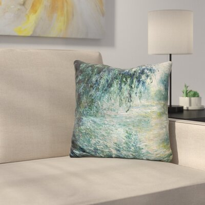 Morning On The Seine Throw Pillow