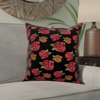 Oshields Rose Throw Pillow