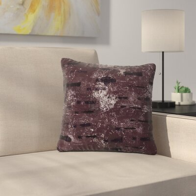 Iris Lehnhardt Tex Mix Lounge Abstract Outdoor Throw Pillow Size: 16 H x 16 W x 5 D, Color: Purple
