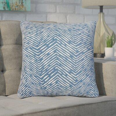 Withrow Zigzag Cotton Throw Pillow
