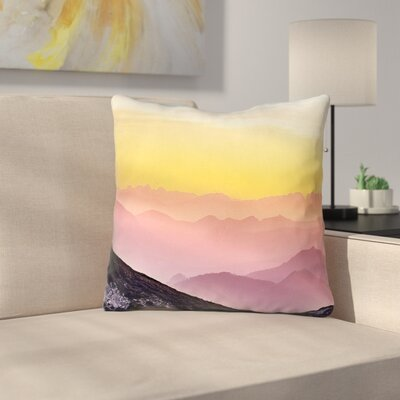Thang Pastel Landscape Double Sided Print 100% Cotton Throw Pillow Size: 18 x 18